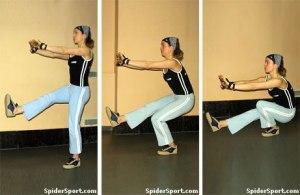 Single-legged Squats