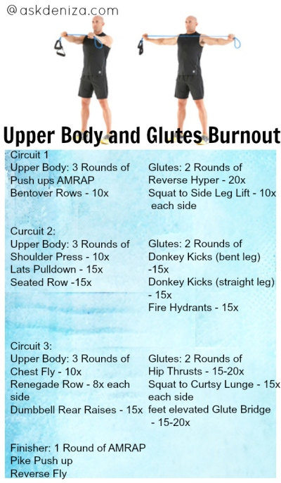 UpperBody and Glutes